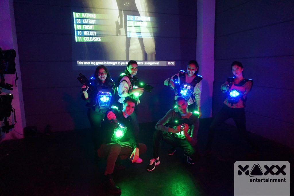 Alumni gehen Laser
